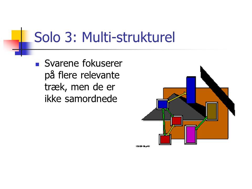 Solo 3: Multi-strukturel