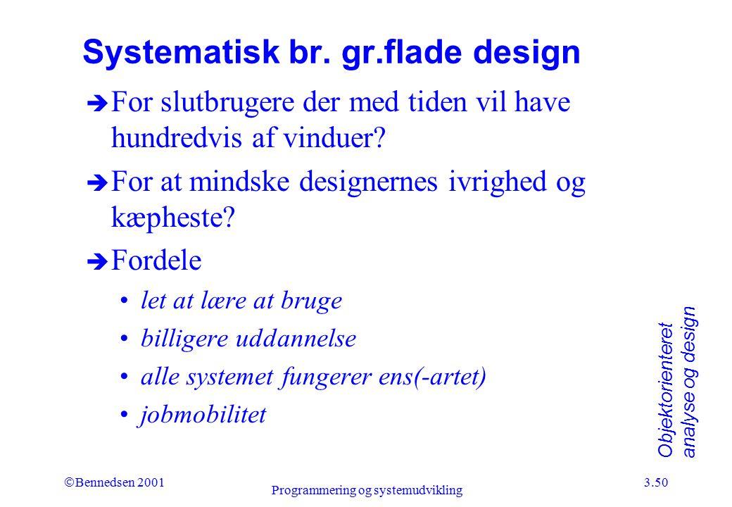 Systematisk br. gr.flade design