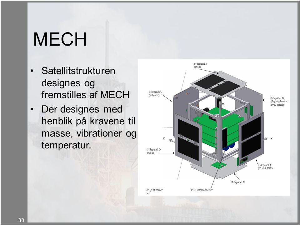 MECH Satellitstrukturen designes og fremstilles af MECH