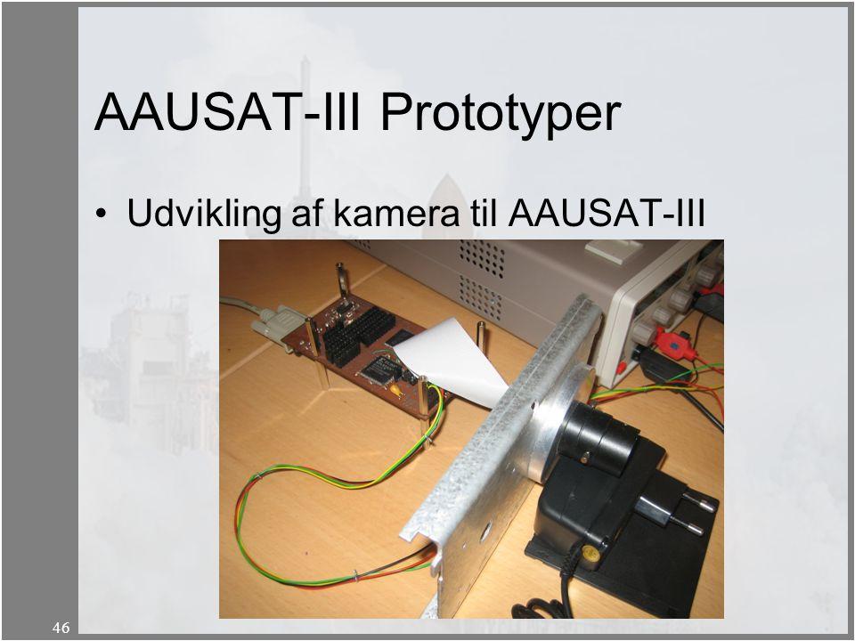 AAUSAT-III Prototyper