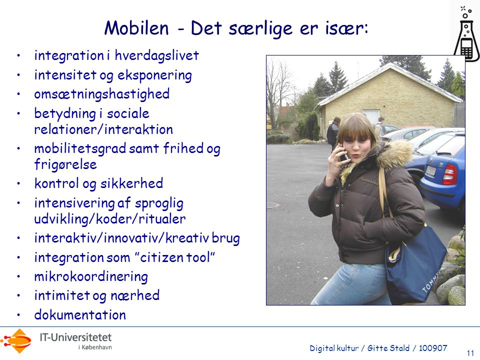 Mobilen - Det særlige er især: