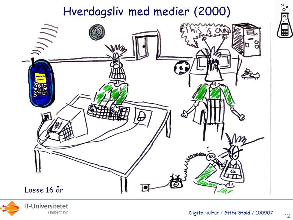 Hverdagsliv med medier (2000)