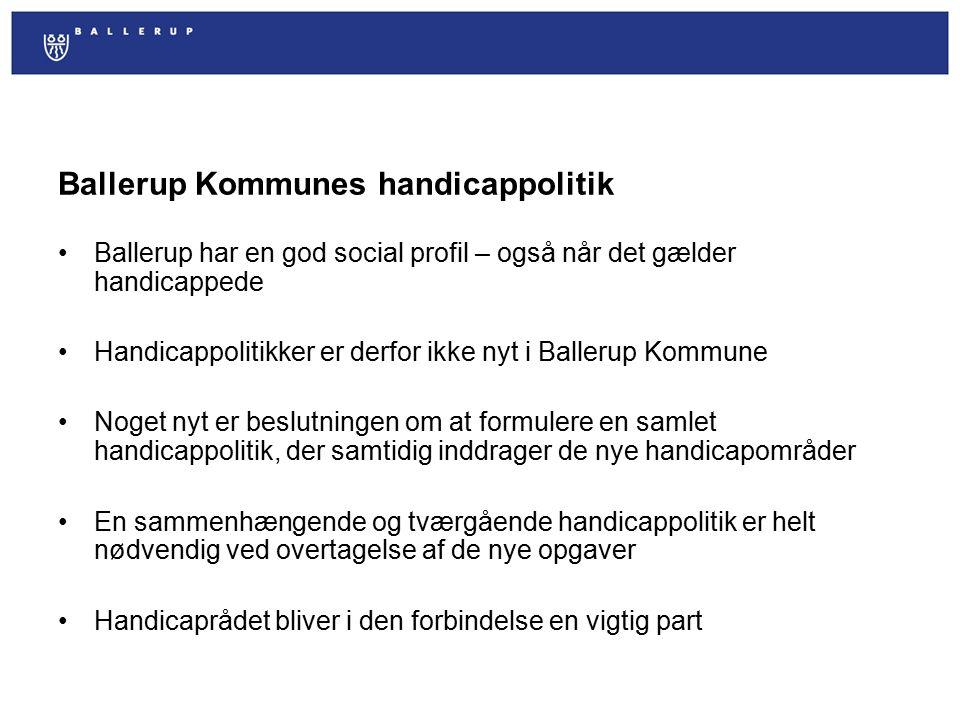 Ballerup Kommunes handicappolitik