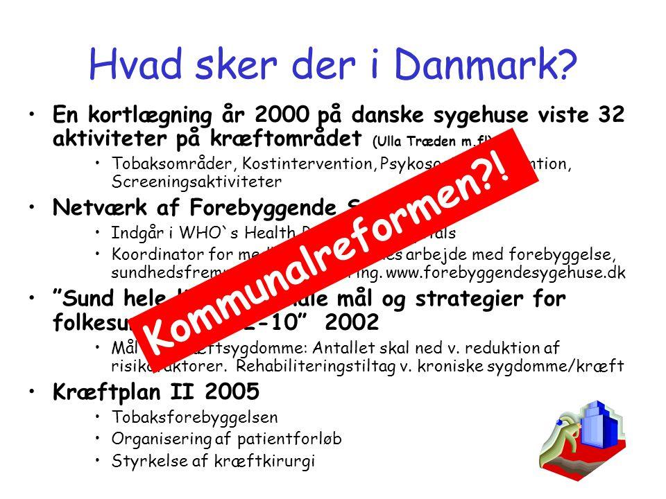 Hvad sker der i Danmark Kommunalreformen !