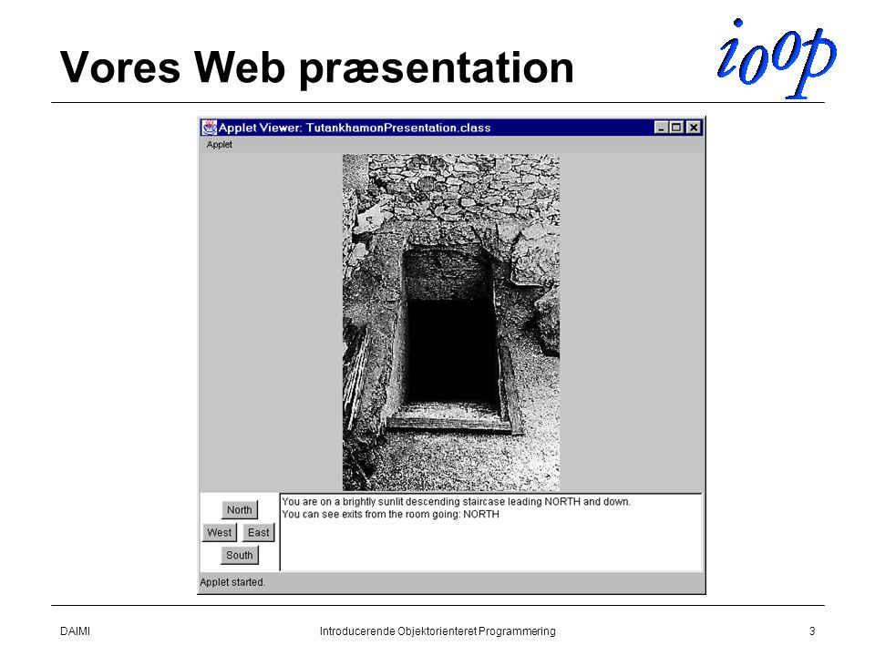 Vores Web præsentation