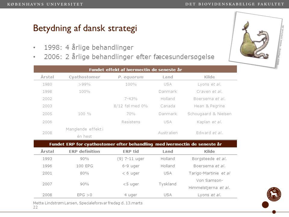 Betydning af dansk strategi