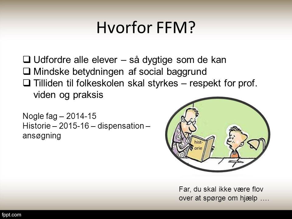 Hvorfor FFM Udfordre alle elever – så dygtige som de kan