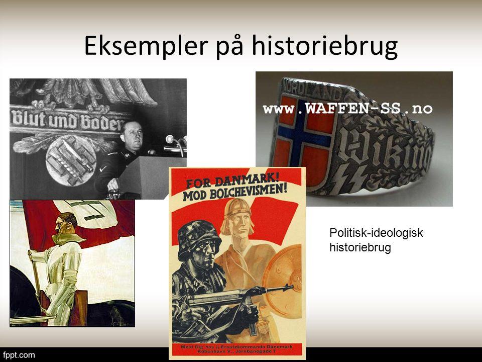 Eksempler på historiebrug
