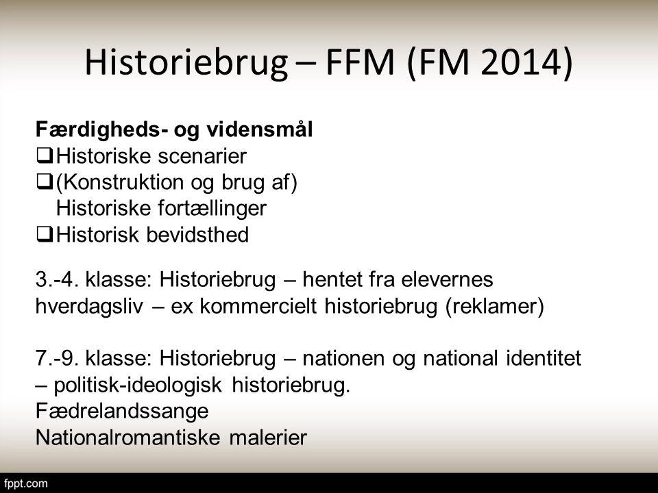 Historiebrug – FFM (FM 2014)