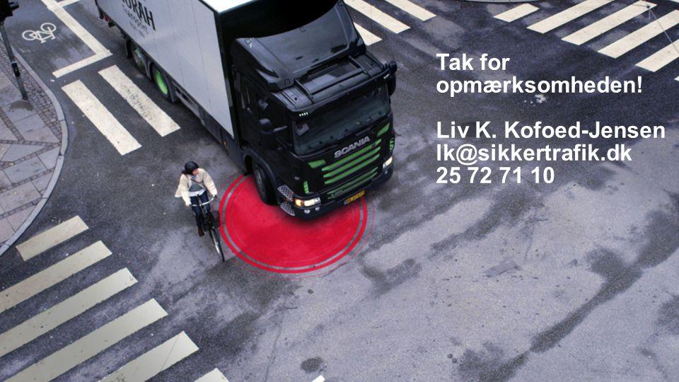 SPØRGSMÅL Tak for opmærksomheden! Liv K. Kofoed-Jensen