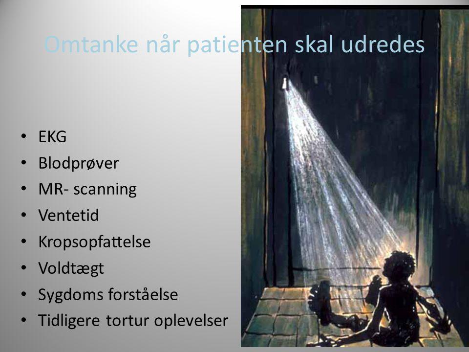 Omtanke når patienten skal udredes