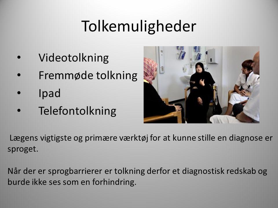 Tolkemuligheder Videotolkning Fremmøde tolkning Ipad Telefontolkning
