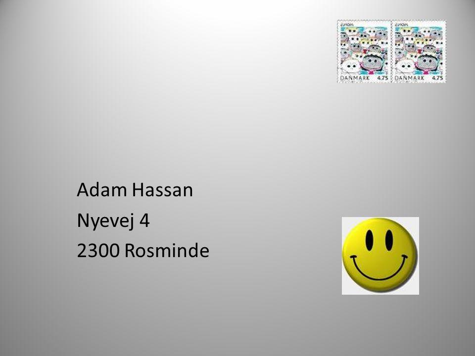 Adam Hassan Nyevej 4 2300 Rosminde