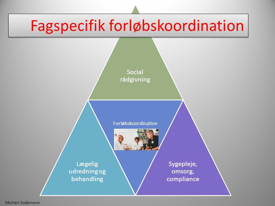 Fagspecifik forløbskoordination