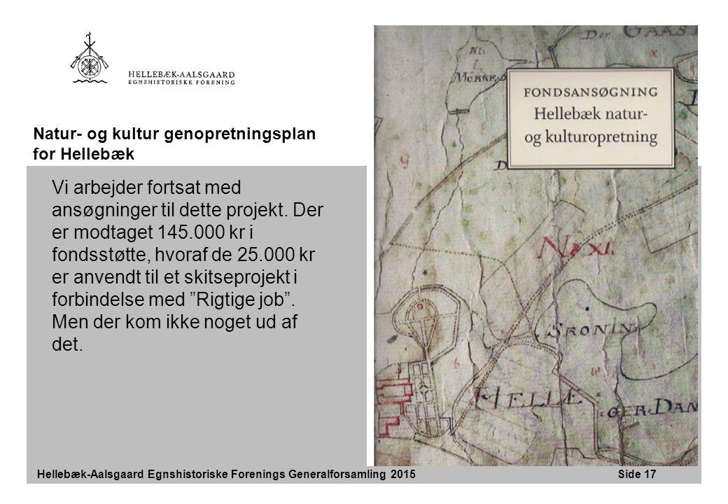 Natur- og kultur genopretningsplan for Hellebæk
