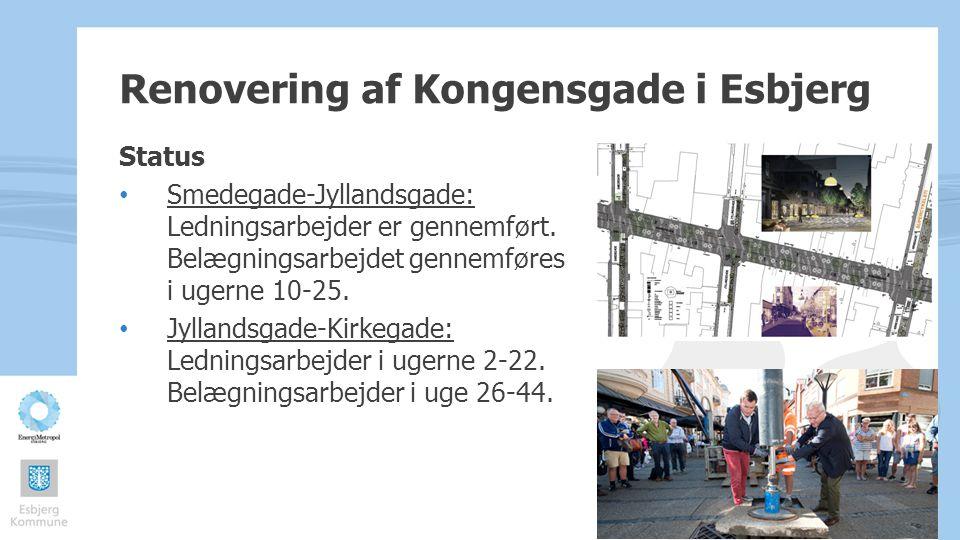 Renovering af Kongensgade i Esbjerg