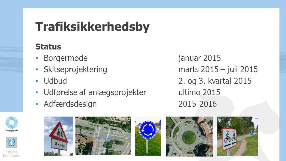 Trafiksikkerhedsby Status Borgermøde januar 2015