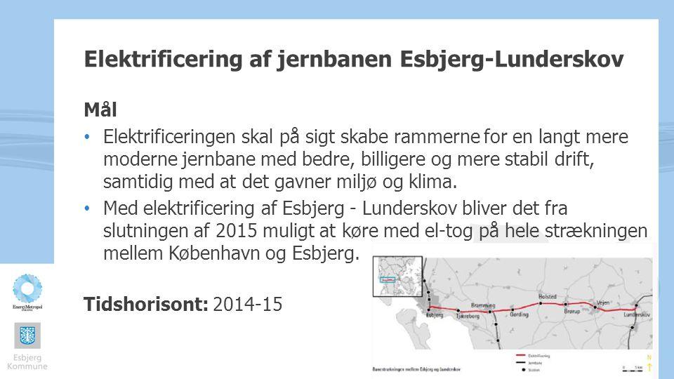 Elektrificering af jernbanen Esbjerg-Lunderskov
