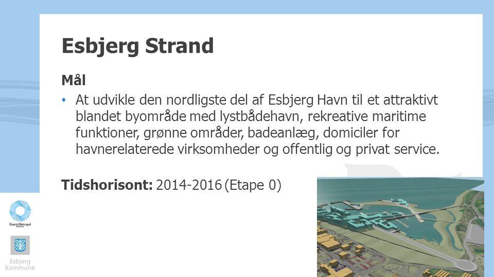 Esbjerg Strand Mål.