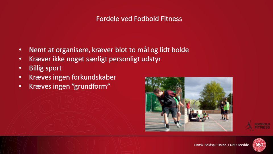 Fordele ved Fodbold Fitness