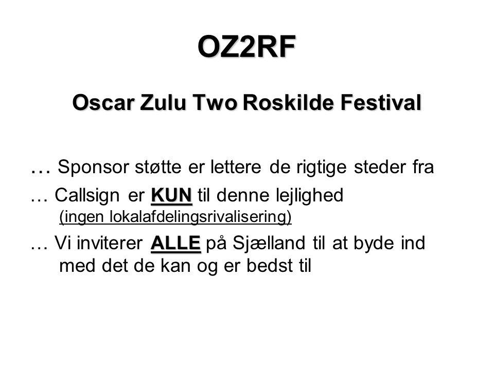 Oscar Zulu Two Roskilde Festival