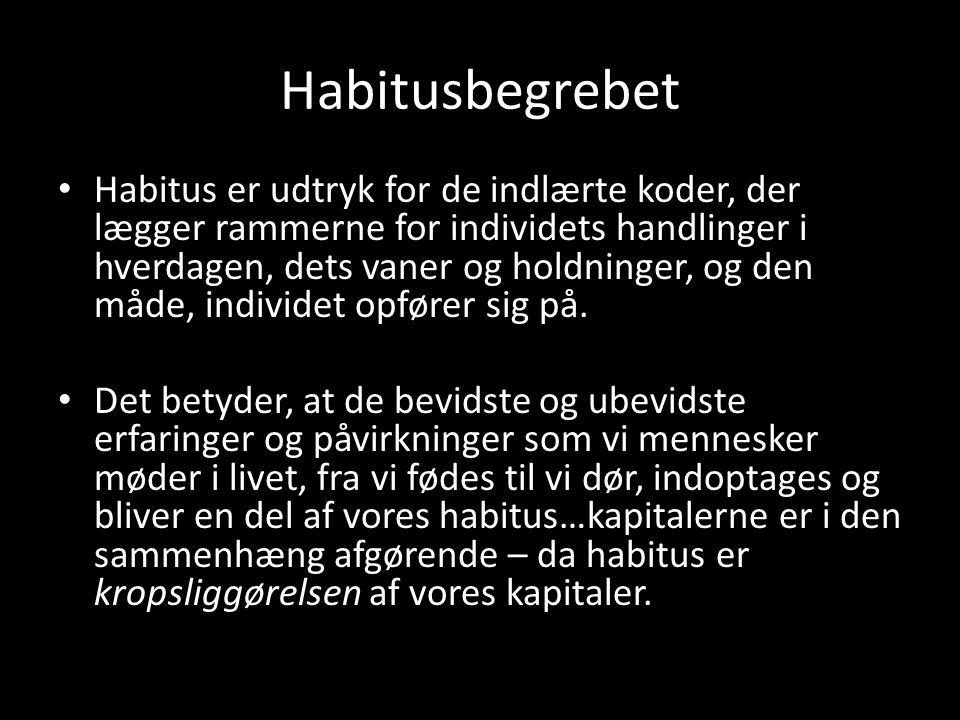 Habitusbegrebet