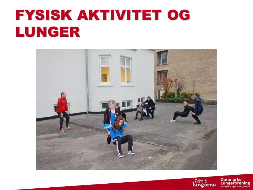FYSISK AKTIVITET OG LUNGER