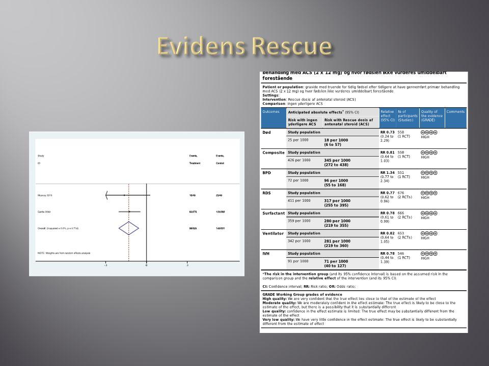 Evidens Rescue