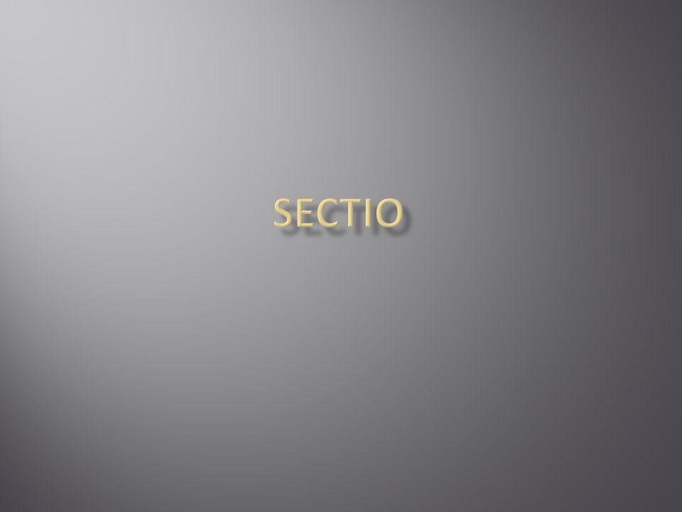 SECTIO