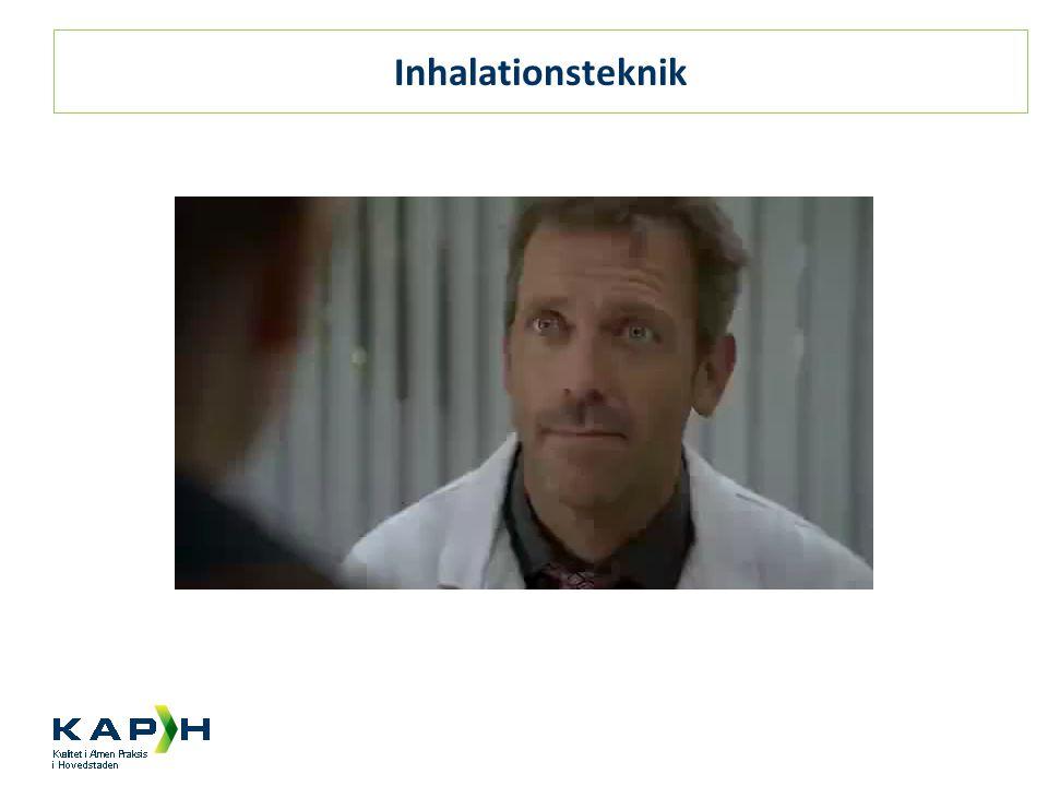 Inhalationsteknik