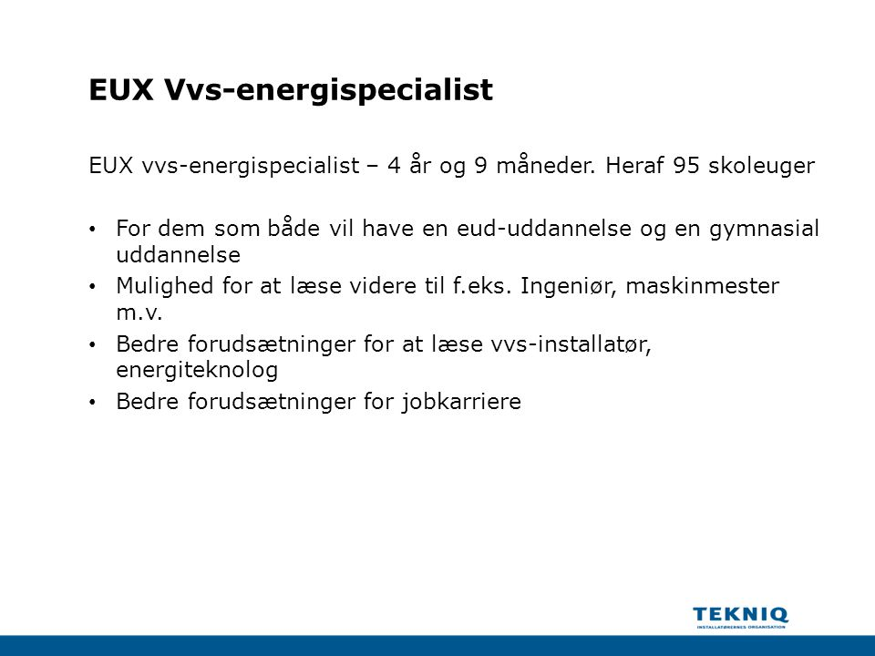 EUX Vvs-energispecialist