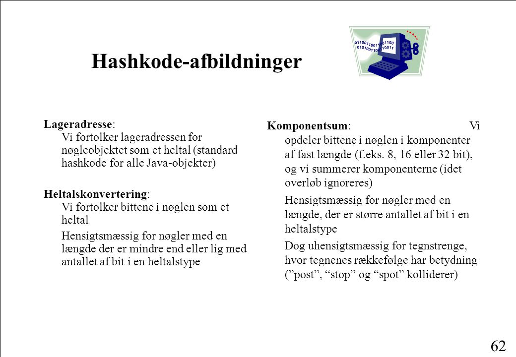 Hashkode-afbildninger