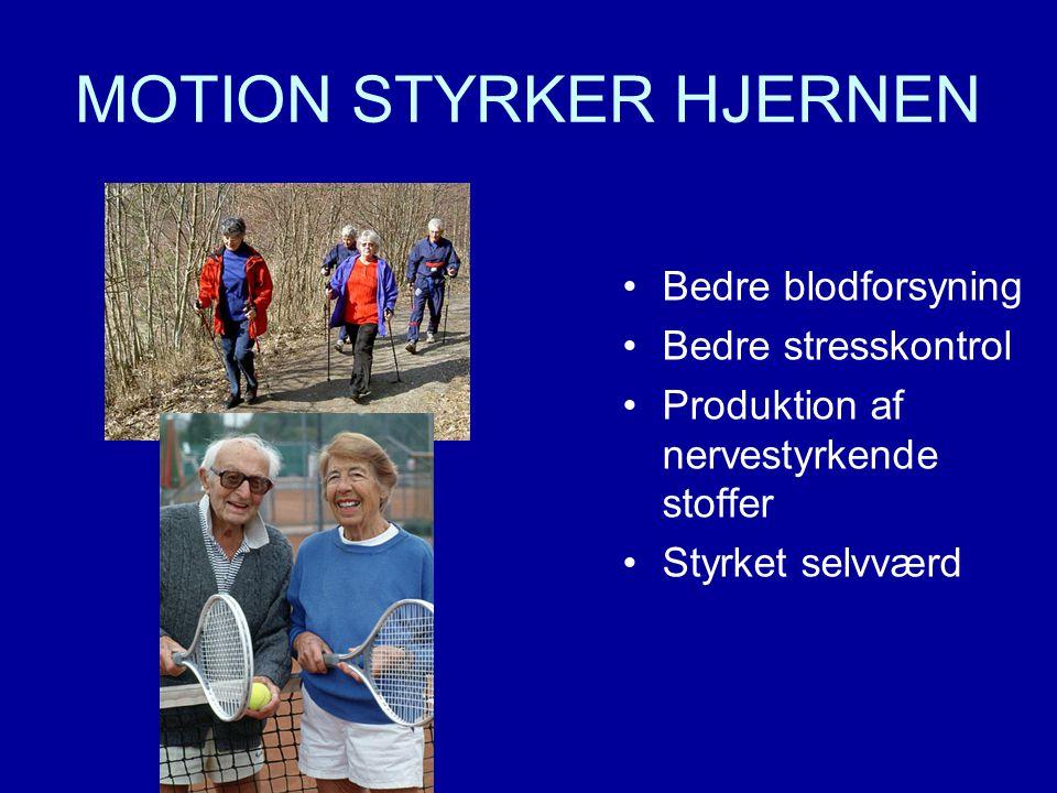 MOTION STYRKER HJERNEN