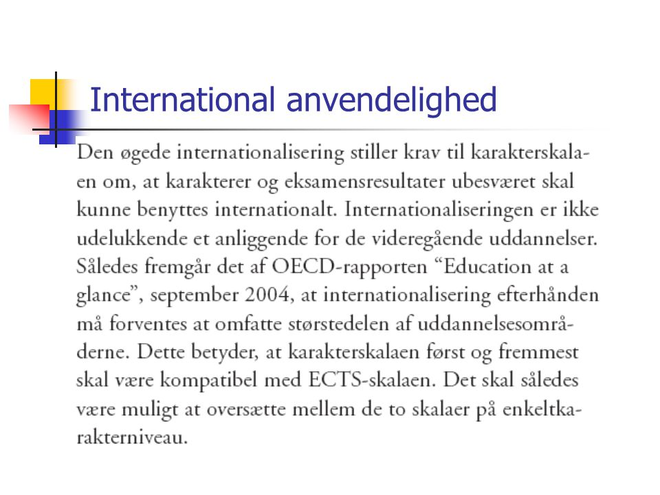 International anvendelighed