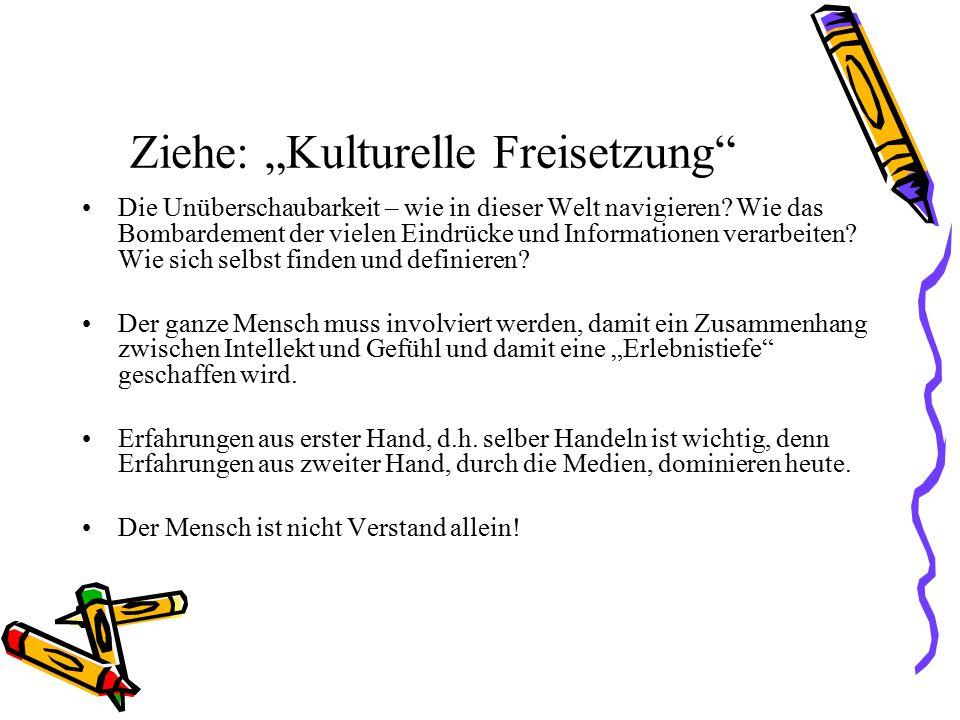 """Ziehe: """"Kulturelle Freisetzung"""