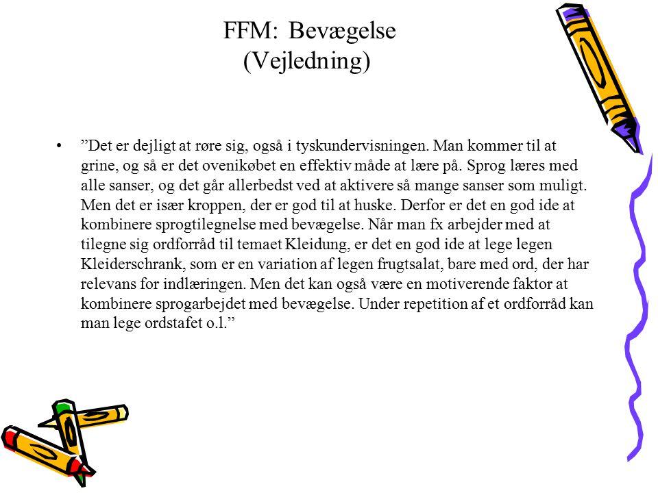 FFM: Bevægelse (Vejledning)