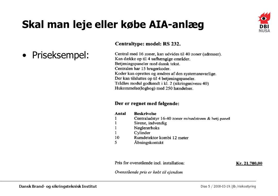 Skal man leje eller købe AIA-anlæg