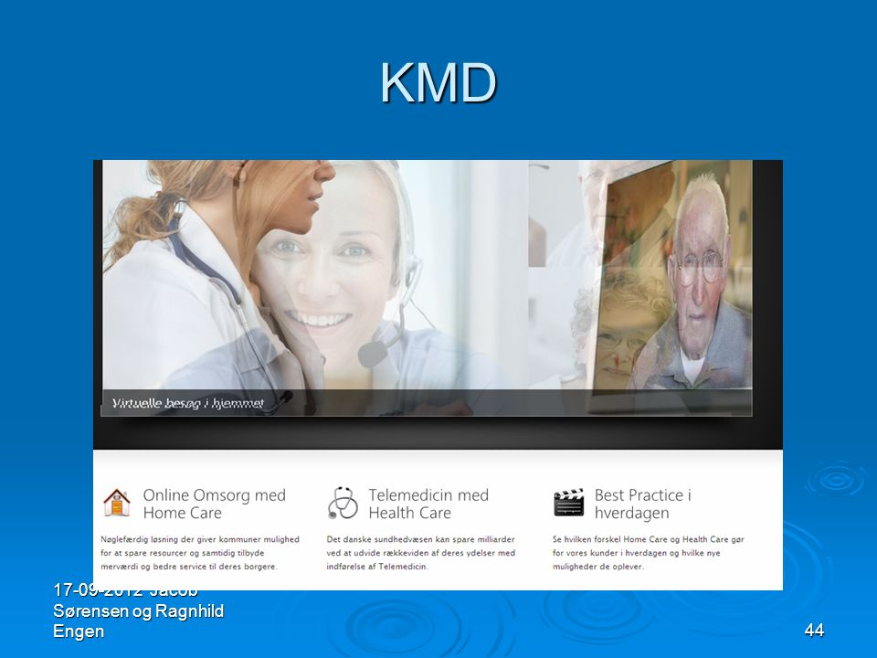 KMD 17-09-2012 Jacob Sørensen og Ragnhild Engen