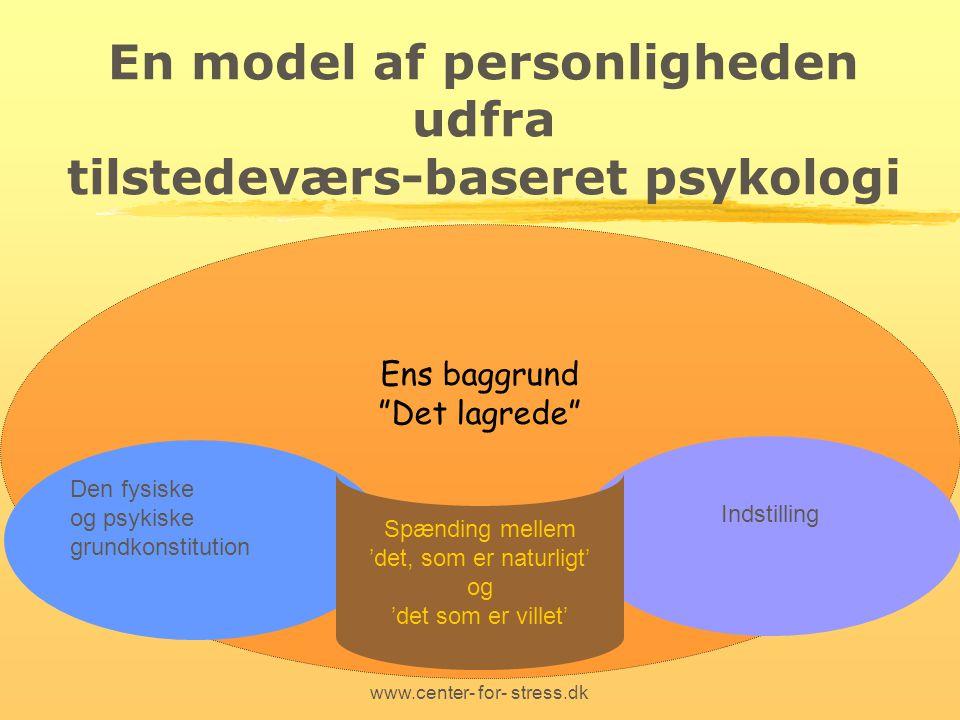 En model af personligheden udfra tilstedeværs-baseret psykologi