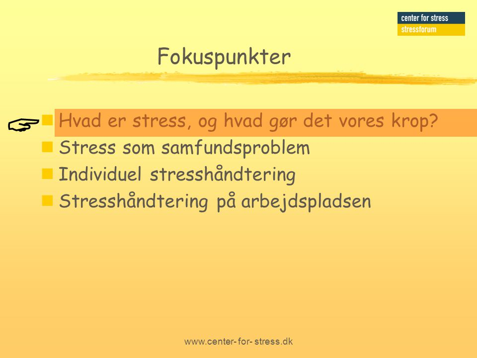 www.center- for- stress.dk