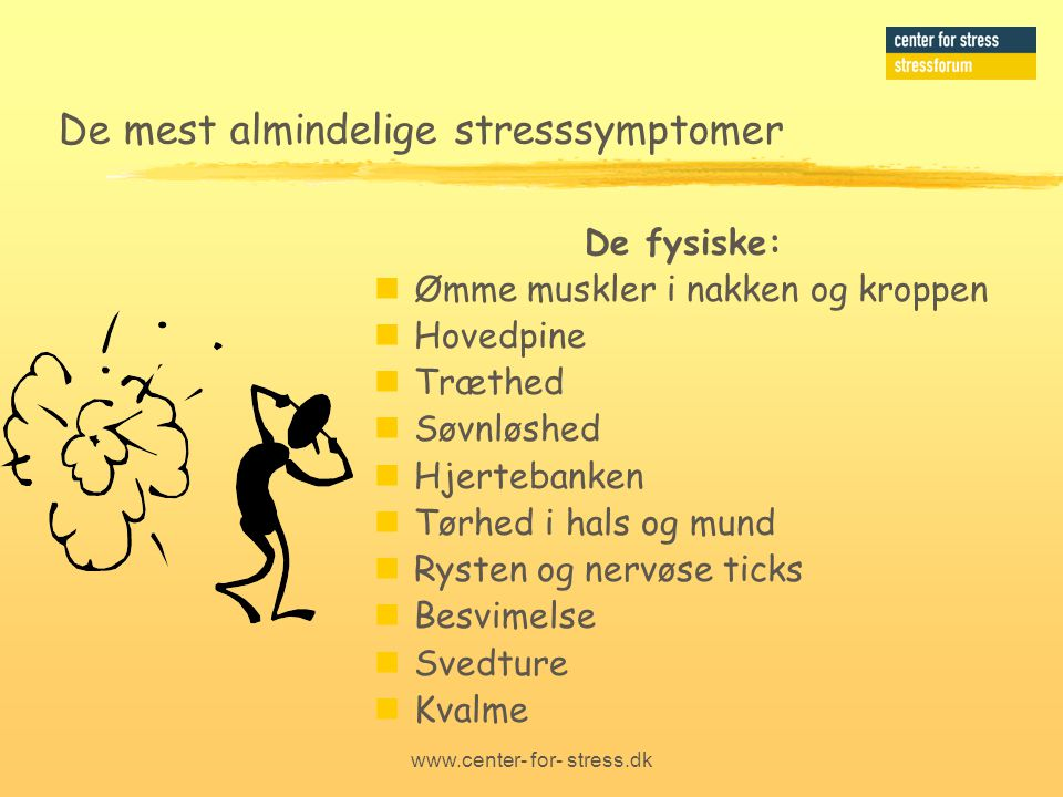 Carl Collatz-Hansen Center for stress - ppt download