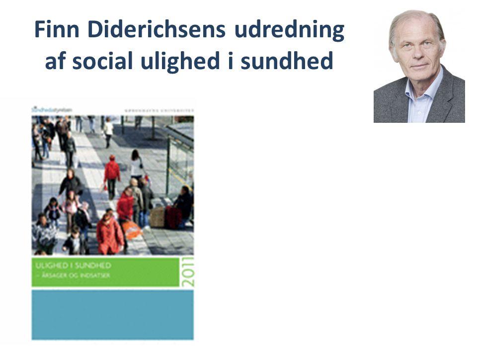 Finn Diderichsens udredning af social ulighed i sundhed