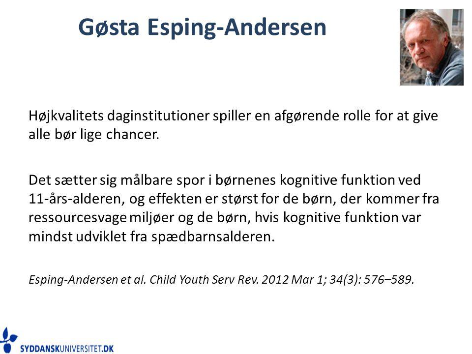 Gøsta Esping-Andersen