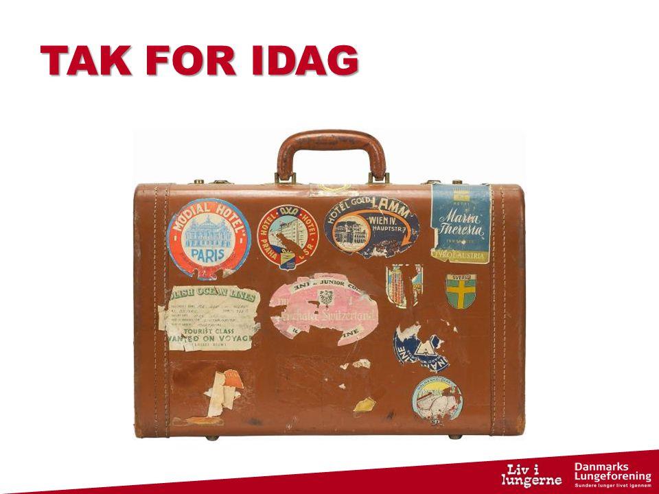 TAK FOR IDAG