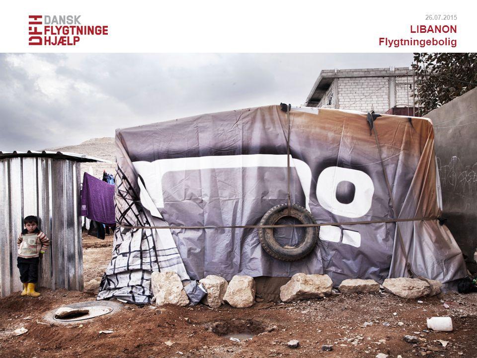 18.04.2017 LIBANON Flygtningebolig