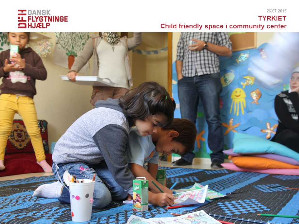 Child friendly space i community center