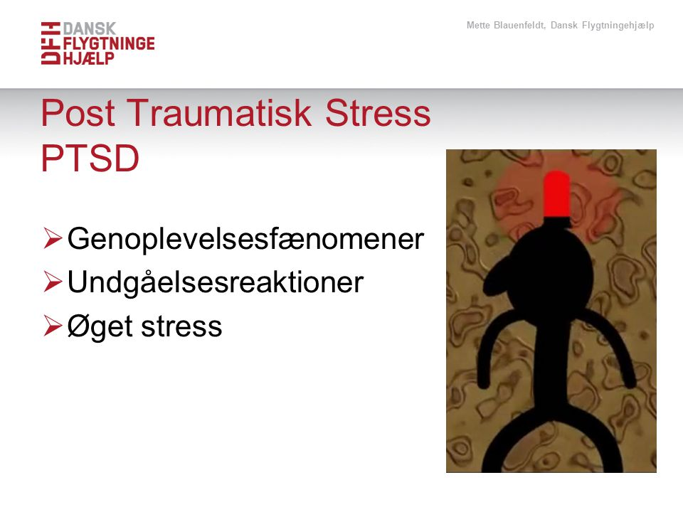 Post Traumatisk Stress PTSD
