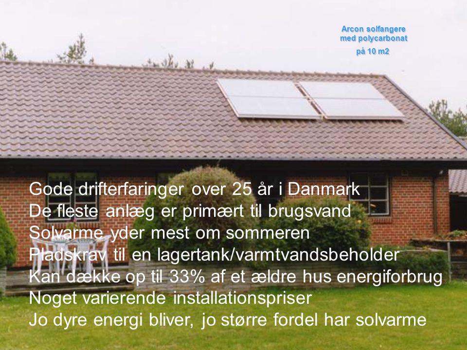 Gode drifterfaringer over 25 år i Danmark