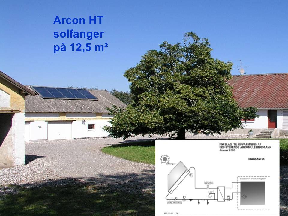 Arcon HT solfanger på 12,5 m²