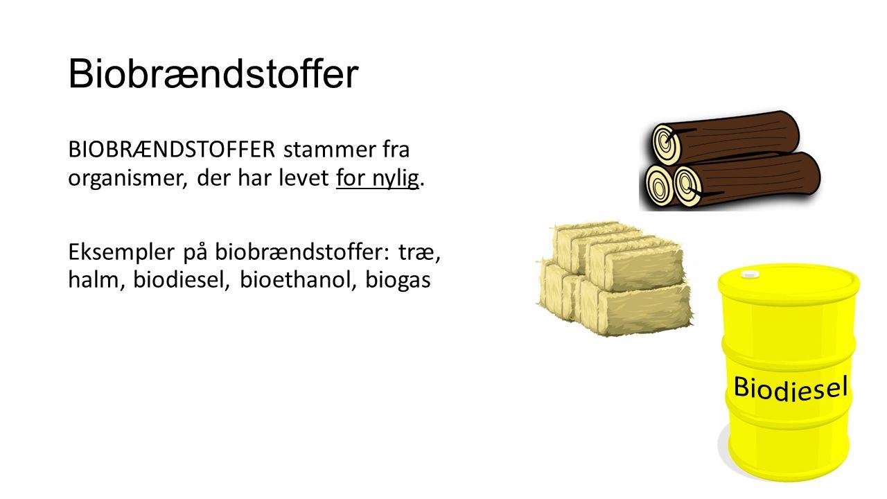 Biobrændstoffer